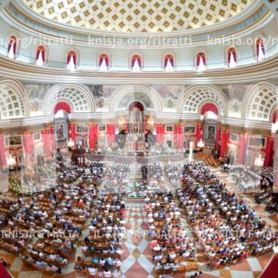Quddiesa fil-festa ta' Santa Marija, il-Mosta – 15/08/17
