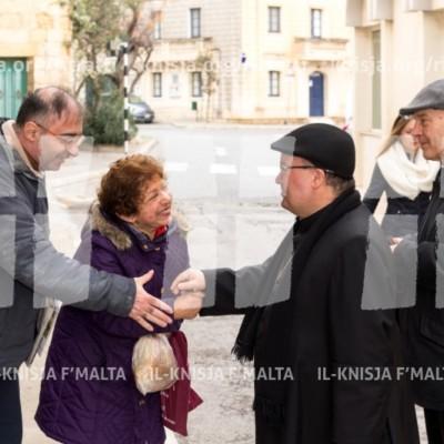 Viżta Pastorali Ħal Balzan: Quddiesa fil-Knisja Parrokkjali u laqgħa mal-Kunsill Lokali u s-Soċjetà Ċivili – 04/02/18