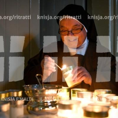 Quddiesa f'Jum il-Ħajja Kkonsagrata fil-Kappella tal-Monasteru tas-Sorijiet Klarissi – 02/02/18