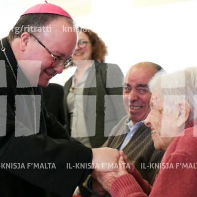 Viżta Pastorali Ħal Balzan: Żjara lill-anzjani f'Casa Antonia – 05/02/18