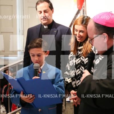 Viżta Pastorali Ħal Balzan: Żjara lill-Kulleġġ San Alwiġi – 05/02/18