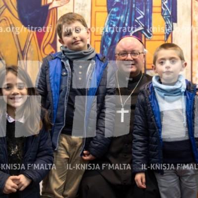 Viżta Pastorali Ħal Balzan: Laqgħa mat-tfal u l-operaturi pastorali – 05/02/18
