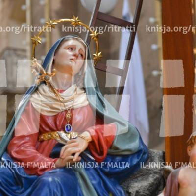 Ġimgħa Mqaddsa 2018: Purċissjoni bl-Istatwa tad-Duluri, il-Belt Valletta – 25/03/18