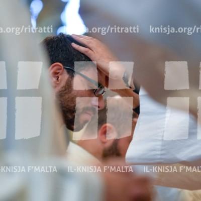 L-Ordinazzjoni Presbiterali ta' disa' saċerdoti ġodda – 07/04/18