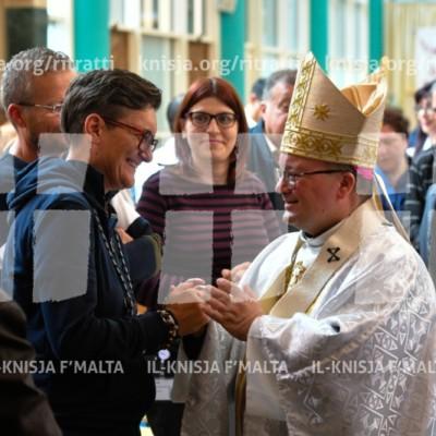Quddiesa ta' ringrazzjament fl-Isptar Mater Dei – 08/04/18