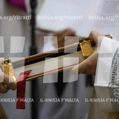 L-Ordinazzjoni Djakonali ta' erba' seminaristi – 22/04/18