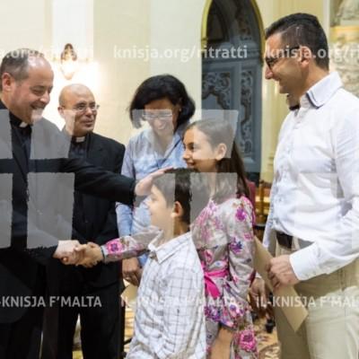 Quddiesa u Gradwazzjoni tal-Istitut ta' Formazzjoni Pastorali – 08/11/16