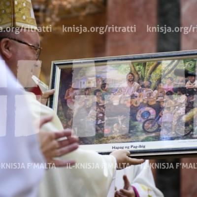 L-Arċisqof jiċċelebra Quddiesa għall-parteċipanti tal-Konferenza Ewropea ta' Sant'Infanzja – 23/04/18