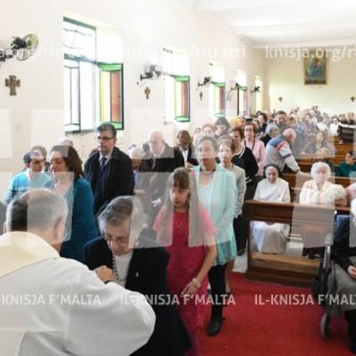 Viżta Pastorali Ħ'Attard: Quddiesa fil-Kappella Santa Katerina – 21/04/18