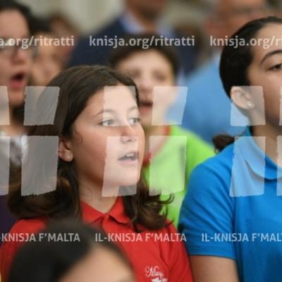 Viżta Pastorali Ħ'Attard: Quddiesa fil-Knisja Parrokkjali – 29/04/18