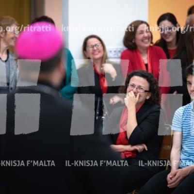 Viżta Pastorali Ħal Safi: Quddiesa fil-Knisja Parrokkjali u laqgħa mal-operaturi pastorali – 05/05/18