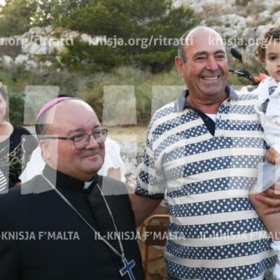 Quddiesa mal-Għaqda Ex-Studenti Liceo (A.L.P.S.) fil-kappella ta' Sant'Anna, il-Wied tal-Pwales, San Pawl il-Baħar – 12/05/18