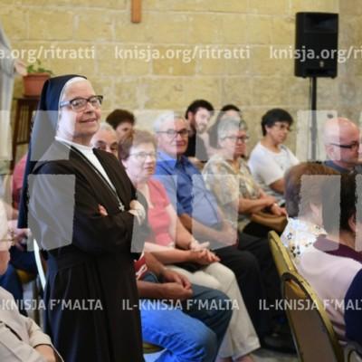 Viżta Pastorali Siġġiewi: Laqgħa mal-Operaturi Pastorali f'Dar Ommna Marija – 28/05/18