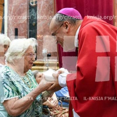 Ċelebrazzjoni tal-Ġublew tal-Ħniena għall-Anzjani – 14/09/16