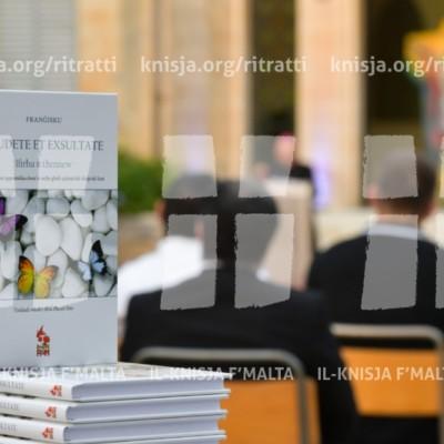 Preżentazzjoni ta' Gaudete et Exsultate, is-Seminarju tal-Arċisqof, Rabat – 31/05/18