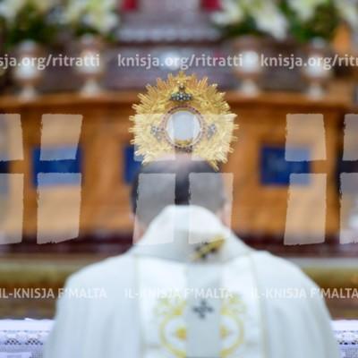 Is‑Solennità tal‑Ġisem u d‑Demm Imqaddes ta' Ġesù (Corpus Christi), fil‑Katidral tal-Imdina – 03/06/18