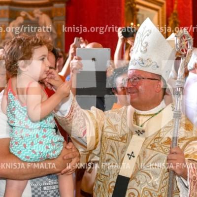 Quddiesa Pontifikali fil-festa ta' Santa Marija Mtellgħa s-Sema – 15/08/16