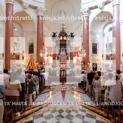 Quddiesa fil-festa tal-Madonna tal-Karmnu, is-Santwarju tal-Madonna tal-Karmnu, il-Belt Valletta – 16/07/18