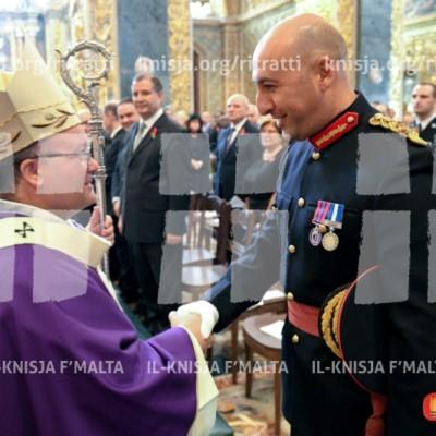 Quddiesa Pontifikali f'Jum it-Tifkira – 13/11/16
