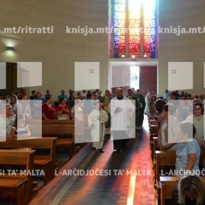 Quddiesa mal-Komunità Abramo, fil-Knisja tal-Erwieħ, Ħal-Tarxien – 21/07/18