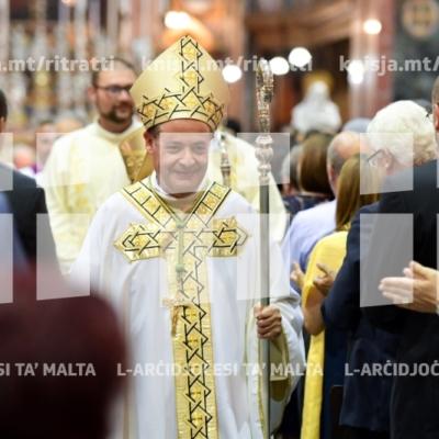 Il-Quddiesa tal-Ordinazzjoni Episkopali ta' Mons. Joseph Galea-Curmi, il-Katidral tal-Imdina – 04/08/18