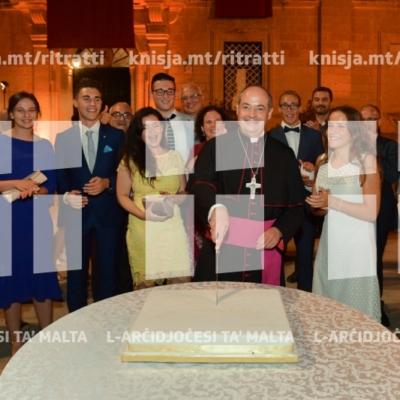 FREE: Riċeviment wara l-Ordinazzjoni Episkopali ta' Mons. Joseph Galea-Curmi, f'Misraħ l-Arċisqof, l-Imdina – 04/08/18