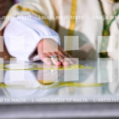 Quddiesa u Konsagrazzjoni tal-Artal tal-Bażilika ddedikata lill-Marija Mtellgħa s-Sema, il-Mosta – 10/08/18
