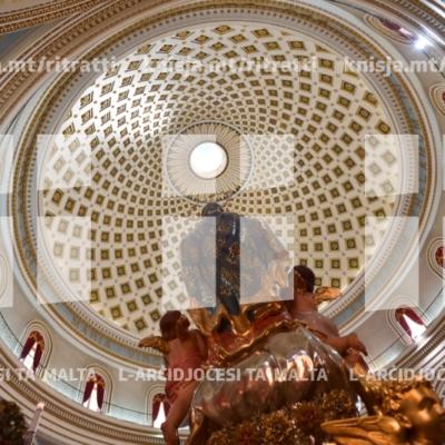 Quddiesa fil-Festa ta' Santa Marija Mtellgħa s-Sema, il-Bażilika tal-Mosta – 15/08/18