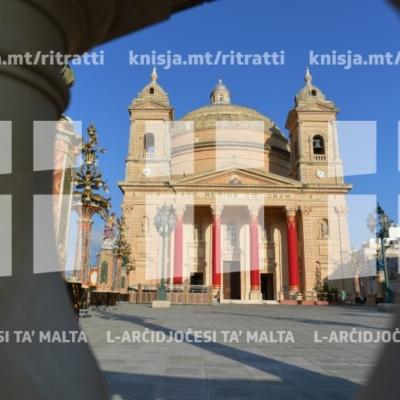 Quddiesa fil-Festa ta' Santa Marija Mtellgħa s-Sema, il-Knisja Parrokkjali tal-Imġarr – 19/08/18