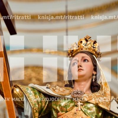 Repożizzjoni tar-Relikwa ta' Sant'Elena, il-Bażilika ta' Sant'Elena, B'Kara – 19/08/18