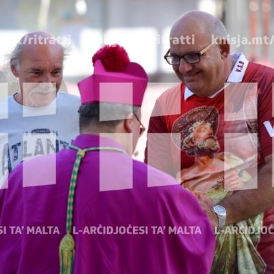 Quddiesa fil-festa ta' San Bartilmew, Knisja Parrokkjali tal-Għargħur – 26/08/18