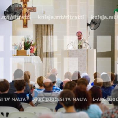 Quddiesa fil-festa ta' San Franġisk, Knisja Parrokkjali tal-Qawra – 01/09/18