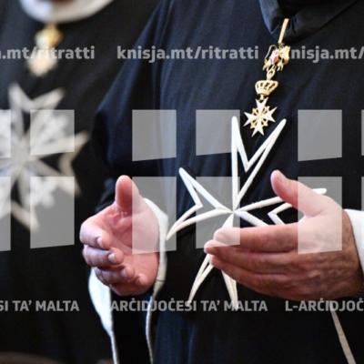 L-Arċisqof jiċċelebra Pontifikal fil-festa tat-Twelid tal-Verġni Marija, fil-Konkatidral ta' San Ġwann, il-Belt Valletta – 08/09/18