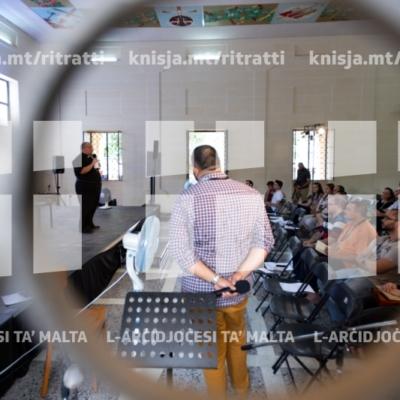 L-Arċisqof jindirizza l-konferenza Plexus 2018 'Ma' Ġesù fil-Periferiji,' għal dawk involuti fil-pastorali maż-żgħażagħ u jiċċelebra Quddiesa, ir-Rabat – 09/09/18