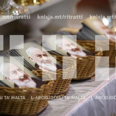 L-Arċisqof jiċċelebra Quddiesa fil-festa ta' San Piju ta' Pietralcina, f'għeluq il-mitt sena tal-għoti tal-pjagi u l-ħamsin sena mill-mewt tiegħu, fil-Knisja Parrokkjali tat-Trinità, il-Marsa – 24/09/18