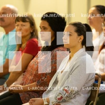 L-Arċisqof jiċċelebra quddiesa fil-bidu ta' sena ta' ħidma għall-istaff tal-Kurja, il-Caritas u s-Segretarjat għall-Edukazzjoni Nisranija, fil-knisja parrokkjali tal-Furjana – 28/09/18