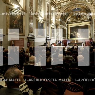 Quddiesa fil‑ftuħ tas‑Sena Forensi, fl‑Oratorju tal‑Konkatidral ta' San Ġwann, il‑Belt Valletta – 01/10/18