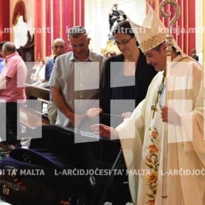 Quddiesa fil-festa tal-Madonna tar-Rużarju fil-knisja ta' San Duminku, ir-Rabat – 06/10/18