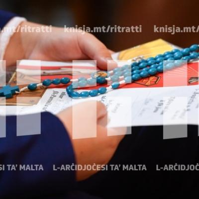 L-għoti tas-Sagrament tal-Griżma tal-Isqof lill-adolexxenti tal-parroċċa ta' Marsaxlokk – 20/10/18