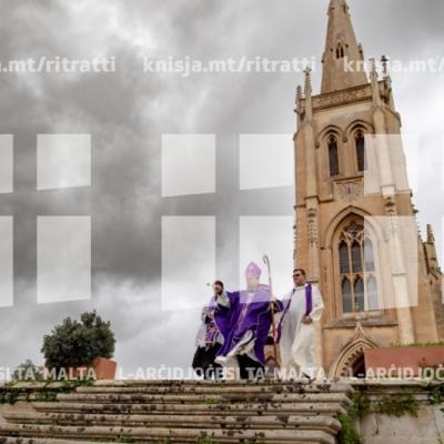 Quddiesa f'Jum il-Mejtin fil-kappella taċ-Ċimiterju tal-Addolorata, Raħal Ġdid – 02/11/18