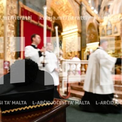 Quddiesa ta' ringrazzjament għall-gradwati l-ġodda tal-Università ta' Malta – 15/11/18