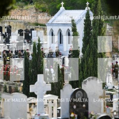 Kommemorazzjoni tal-membri mejtin tal-Forzi Armati ta' Malta – 19/11/18