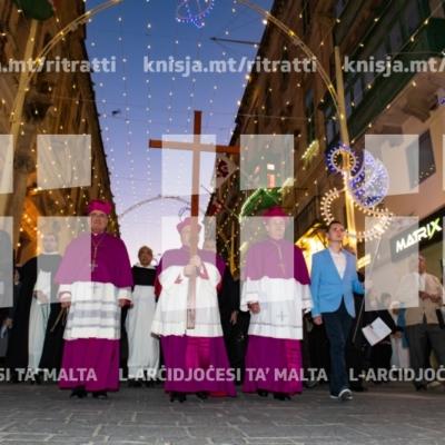 Mixja ta' fidi fil-festa ta' Kristu Re, il-Belt Valletta – 25/11/18