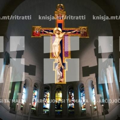 Quddiesa u tberik ta' salib ġdid fil-Knisja ta' San Franġisk ta' Assisi, Birkirkara – 24/11/18