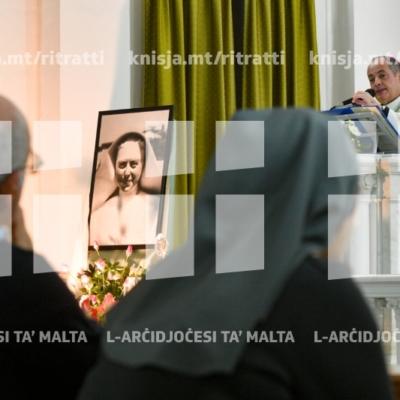 Quddiesa fil-festa tal-Beata Enrichetta Alfrieri, fil-kunvent tas-Sorijiet tal-Karità, Ħal Balzan – 21/11/18