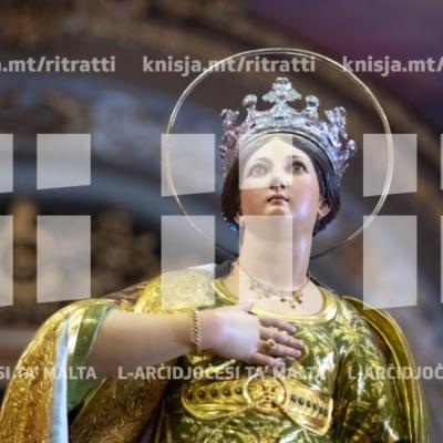 Ċelebrazzjonijiet tal-200 sena tal-vara titulari ta' Santa Katarina, fiż-Żurrieq – 25/11/18