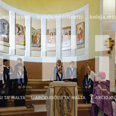 Quddiesa u inawgurazzjoni tal-Via Lucis fil-knisja tal-Kunċizzjoni, il-Ħamrun – 02/12/18