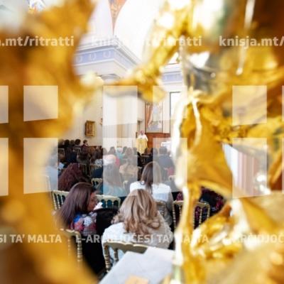 Quddiesa għall-impjegati tas-Segretarjat għall-Edukazzjoni Nisranija, fil-kappella tal-Palazz ta' San Anton – 14/12/18