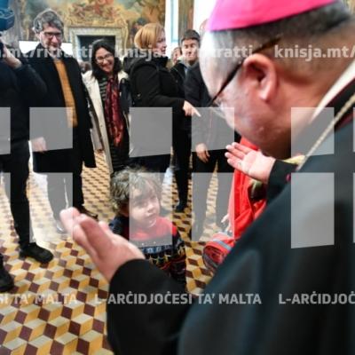 L-Isqfijiet ta' Malta jilqgħu lill-pubbliku għall-bdil tal-awguri għall-Milied u s-sena l-ġdida – 23/12/18