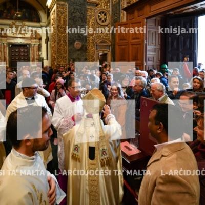 Quddiesa Pontifikali fis-Solennità tat-Twelid ta' Sidna Ġesù Kristu, fil-Konkatidral ta' San Gwann – 25/12/18